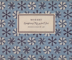 Mozart, music, and vintage image
