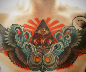colors and tattoo image