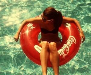 bikini, coca cola, and Hot image