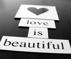 love, beautiful, and black and white image