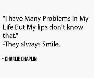 smile, quote, and charlie chaplin image