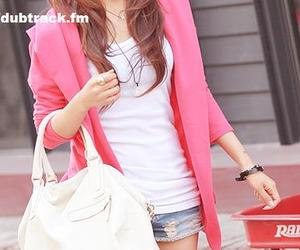 fashion, pink, and dubtrackfm image