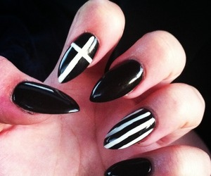 anime, cross, and nails image