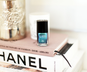 chanel, beautiful, and blue image