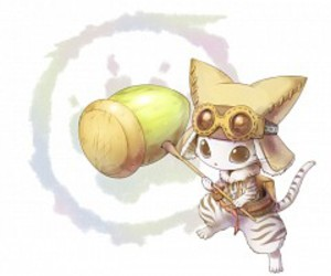 kitty and monster hunter image