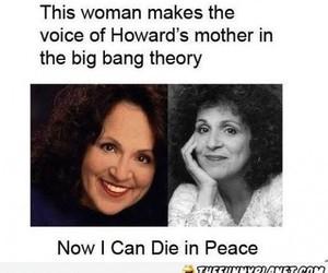big bang theory and howard's mother image