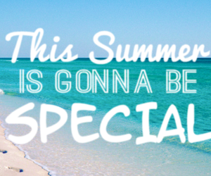 summer, beach, and special image