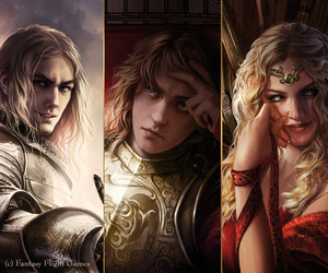 art, fan, and jaime lannister image