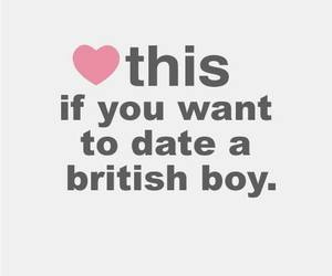 boy, british, and date image