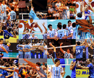 volleyball and argentina image
