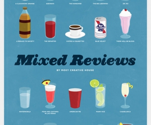 drinks, illustration, and movies image