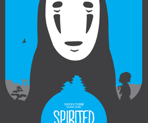spirited away, no face, and anime image