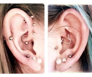 helix, luxury, and piercing image