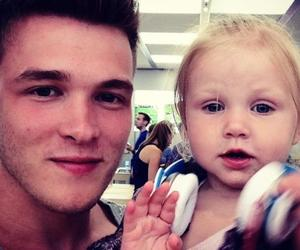 josh devine, one direction, and baby lux image