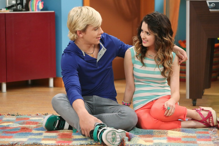 Austin and ally when they start dating