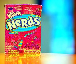 candy, grape, and nerds image