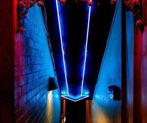neon, light, and bar image