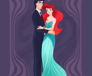ariel, baile, and disney image