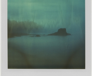 Dream, waterscape, and polaroid image
