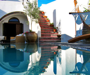 dream home, Greece, and luxury image