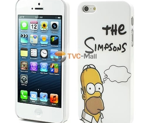 the simpsons, iphone case, and cute iphone case image