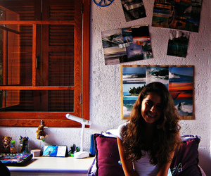 girl, room, and surf image
