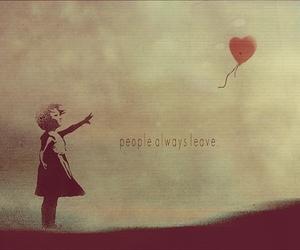 leave, people, and sad image
