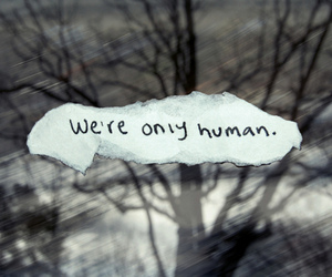human and quote image