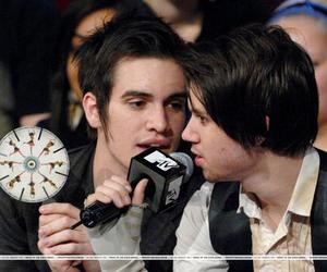 ryden, brendon urie, and panic! at the disco image