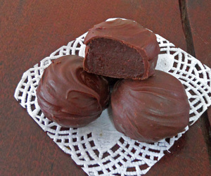 banana, chocolate, and truffles image