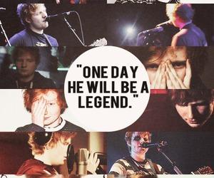 ed sheeran, legend, and ed image