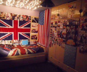 bedrooms, london, and flags image