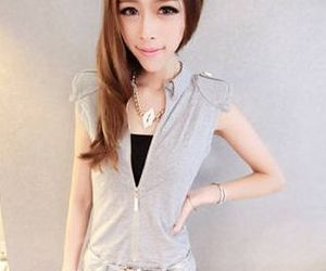 Fashion clothing, jumpsuit, and gray image