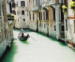 venice, water, and boat image