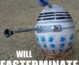 easter eggs, doctor who, and darlek image