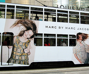 marc jacobs, bus, and fashion image
