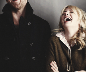 ryan gosling, michelle williams, and laugh image