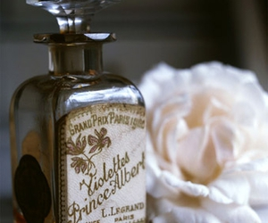 perfume, vintage, and bottle image