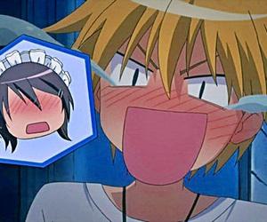 anime, usui takumi, and kaichou wa maid-sama image