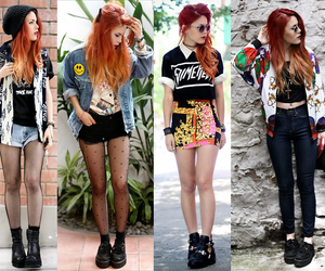 fashion, style, and luanna image