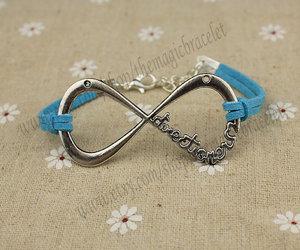 charm bracelet, love bracelet, and infinity bracelet image