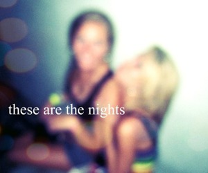 party, night, and girls image