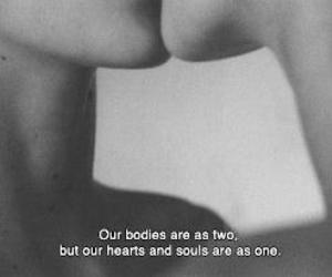 black and white, heart, and sweet image