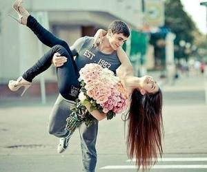 <3, flowers, and love image
