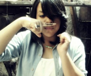 girl, love, and mustache image