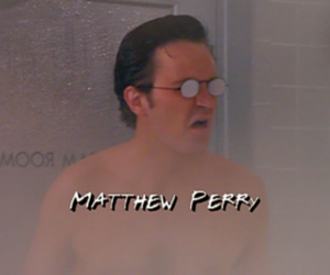Matthew Perry, friends, and f.r.i.e.n.d.s image