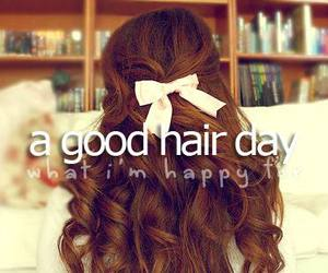 hair, good, and happy image
