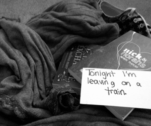 for, leaving, and mayday parade image