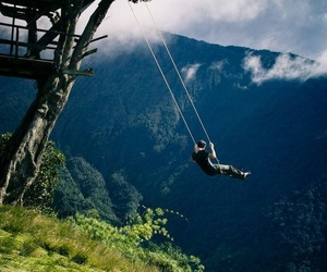 adventure, beautiful, and swing image