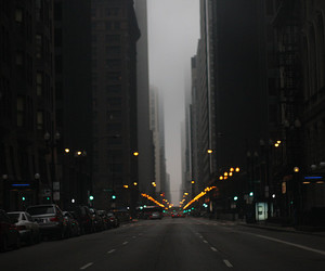 america, cars, and lights image
